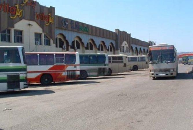 محطة خروبة النقل بين الولايات