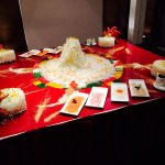 Lunar New Year feast at Park Palace, Grand Park City Hall