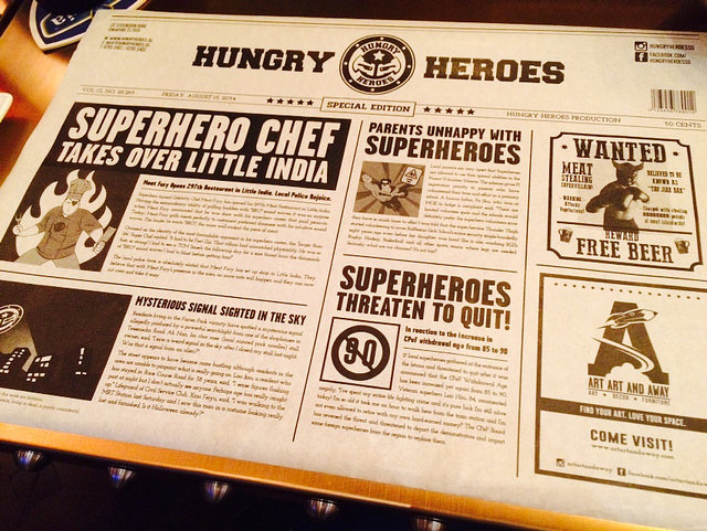 Hungry heroes @ nadnut