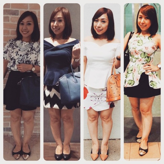 This week's #nadootd. (Not including days that I had forgotten to take pics). It's all about prints!