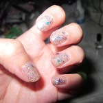 Tutorial: How to remove glitter nail polishes easily – The foil method.