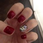 """NOTD: The """"bling-bling"""" nails."""