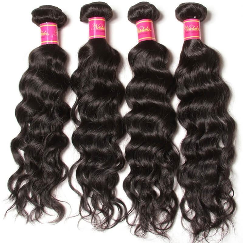 Nadula Cheap Malaysian Virgin Hair Weave Natural Wave 4