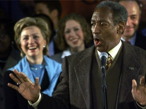 Hillary, Chelsea and Bill . . . Cosby