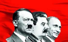 Hitler, Stalin, and Putin