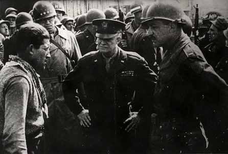 Ike at Dachau