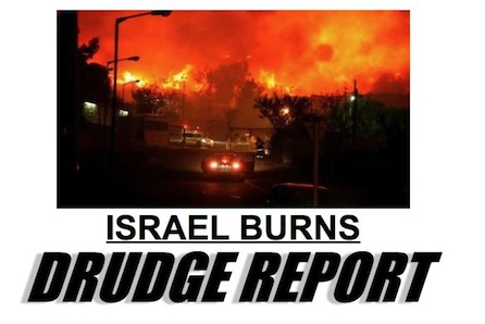 Israel burns