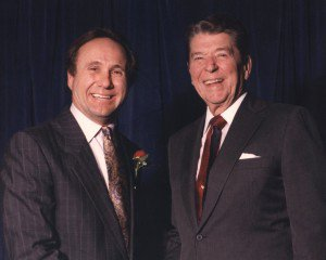 Michael and Ronald Reagan