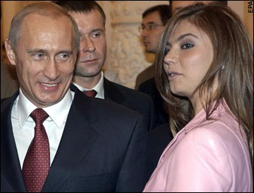 Putin and His Mistress Kabaeva
