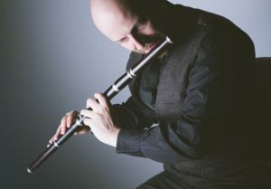 Hamish with flute