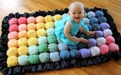 faire un tapis avec des chutes de tissu