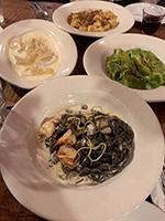 Dishes at Maccheroni Republic