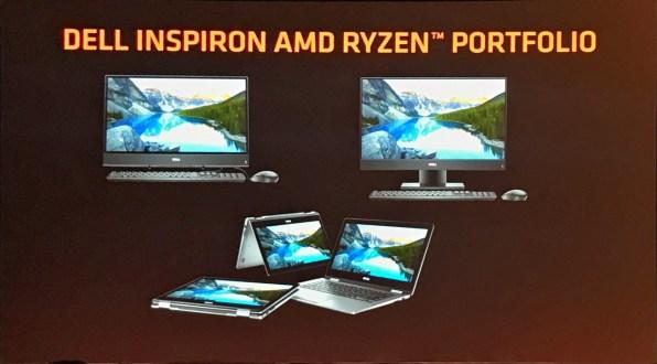 AMD Computex 2018 Dell portfolio