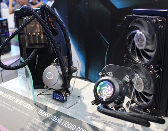 Cooler Master's thermoelectric cooler concept