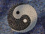 mosaic ying and yang