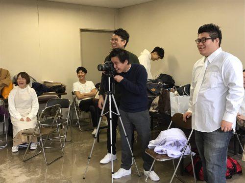 【稽古場ブログ12月8日】チラシ撮影会