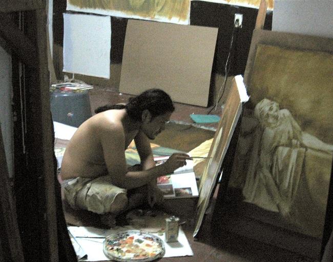 HOMENAJE A RICARDO TORRES 2007. Antonio Cañas