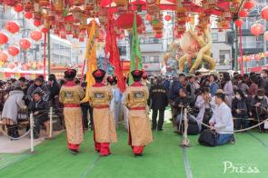 2/24(土)皇帝パレード(中央公園会場)