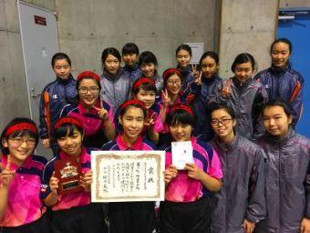 卓球部が九州大会へ-2