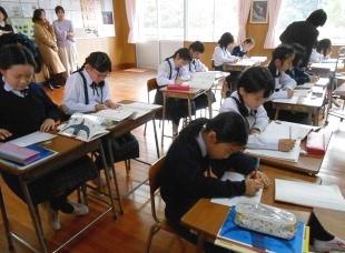 授業参観 平成30年度3学期