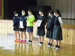 中学校オリエンテーション2020