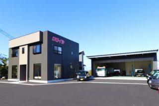 株式会社クロイシ整備工場・事務所の新築工事イメージ写真