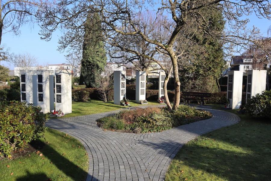 Friedhof Eggenstein - Urnenstrele