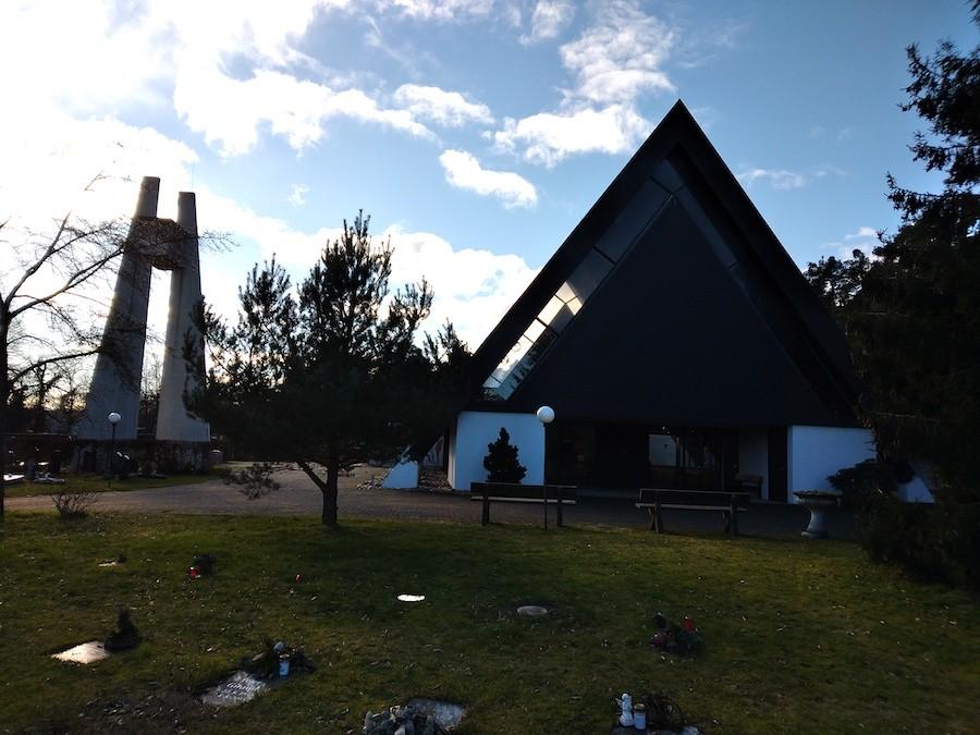 Friedhof Friedrichstal - Aussegnungshalle
