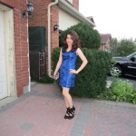 Outfit Of The Night: The Blue Dress ♥