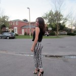 Outfit Of The Night: Patterned Trousers