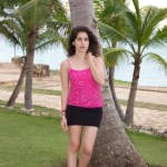 Pink Sparkles in Cuba: NYE Outfit Inspiration