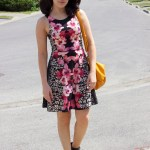 Floral Dress With An Edge