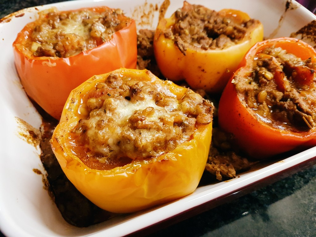 What to cook wednesday: stuffed bell peppers