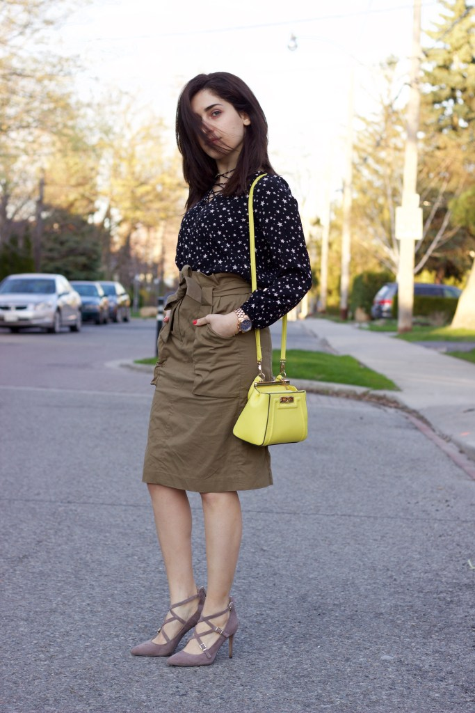 Styling a Cargo Skirt