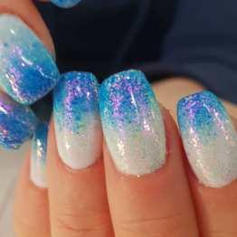 Aurora nagelglitter
