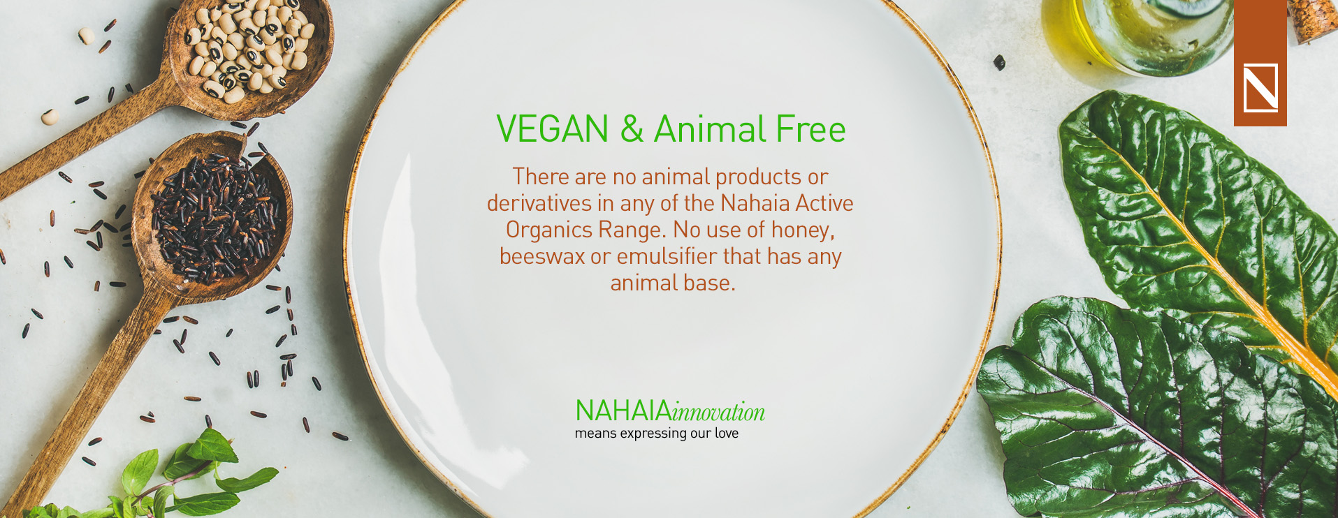 Nahaia Active Organics Vegan And Animal Free