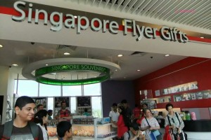 Singapore Flyer - Gifts Shop