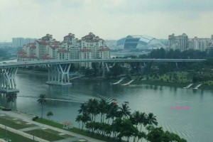 Singapore Flyer - First View since the ride