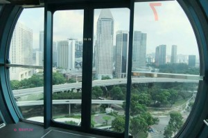 Singapore Flyer - Inside the Capsule