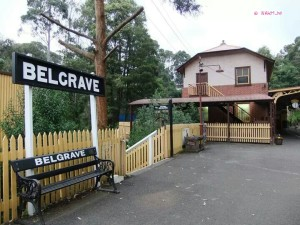 Puffing Billy - Belgrave Station