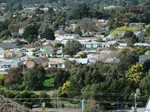 Soverign Hill, Ballarat - Sovereign Hill - View from Poppet Head
