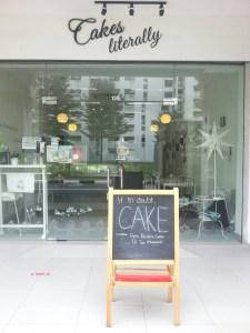 Cakes Literally - Shop Front