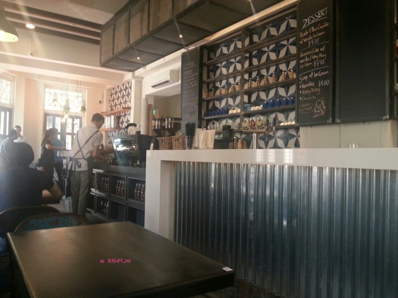 The Lokal - Interior of Cafe