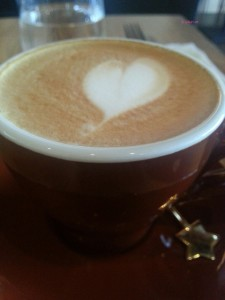 Three Hands Coffee - My order, Cappuccino