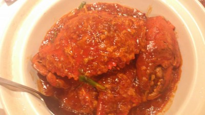 Must Eat Food for Visitors in Singapore - Chilli Crab