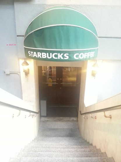 Weekend In Hong Kong In July 2014 - Starbuck @ Duddell Street