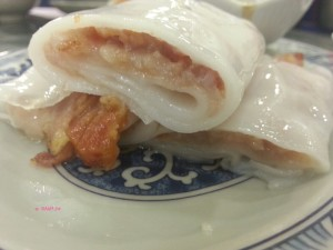 Sea View Congee Shop - BBQ Pork Rice Roll