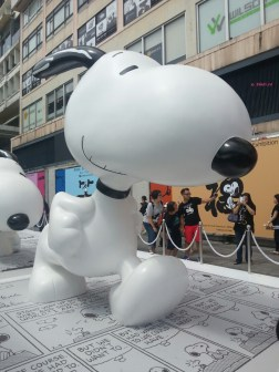 Weekend In Hong Kong In July 2014 - Snoopy @ Harbourcity, Full Snoopy View @ Harbourcity, Side View