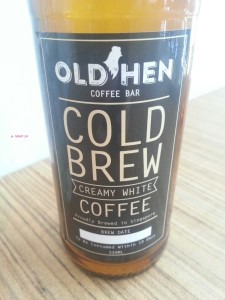 Old Hen Coffee Bar - Cold Brew (White)