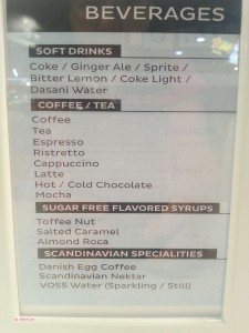 Smør - Drink Menu